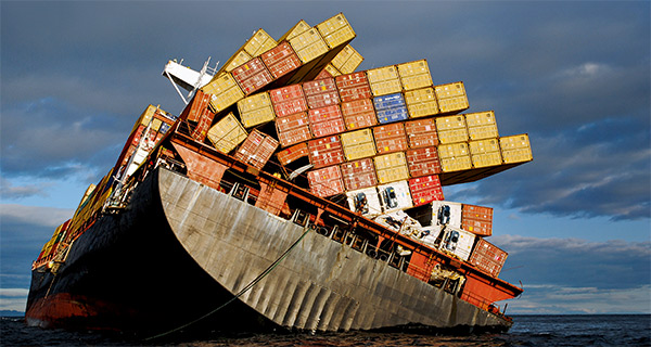 container vessel accident